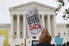 DACA APPLICANTS IN QUEENS ARE WORRIED THAT THEIR FUTURE IN THEIR HOME IS THREATENED FOLLOWING A JULY RULING FROM U.S. DISTRICT JUDGE ANDREW HANEN. AP FILE PHOTO BY JACQUELYN MARTIN